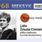 Lidia Zmuda-Chmielnicka 1968