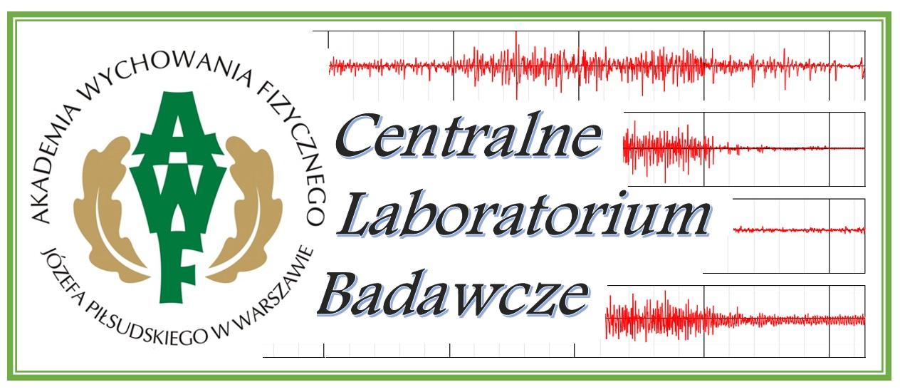 Witamy na stronie Centralnego Laboratorium Badawczego