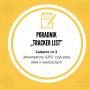 "Zadanie nr 3""Tracker list"""
