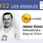 Janusz Kusocinski 1932